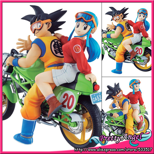 PrettyAngel - Genuine Megahouse DESKTOP REAL McCOY Dragon Ball Z Son Goku & Chichi Complete Figure 1