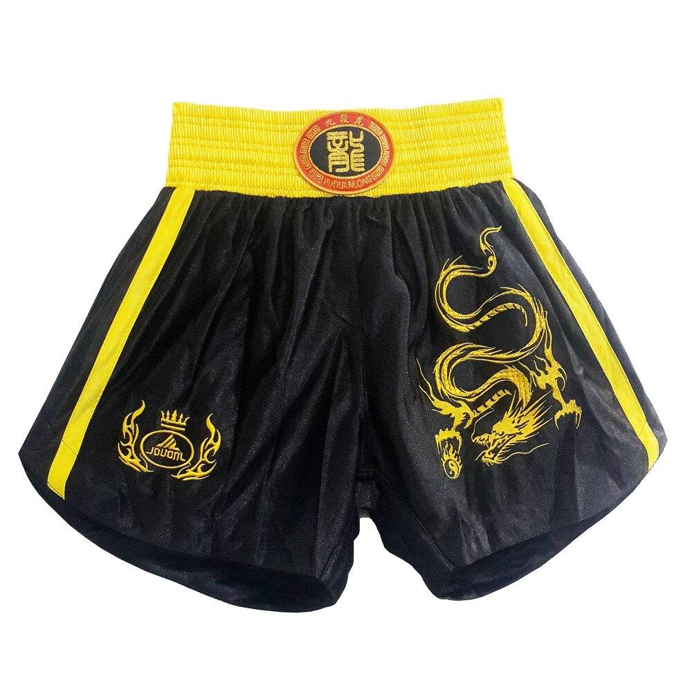 Prix pour MMA De Boxe Troncs Lutte Short Pantalon de Combat Libre Boxe Sanda Shorts Muay Thai Pour Hommes Livraison Gratuite BS-JHW0006