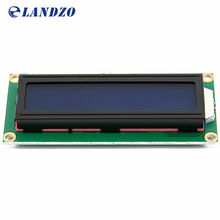 LCD1602 1602 module arduino 5V lcd 1602 blue screen Character LCD Display Module Blue Blacklight New white code free shipping