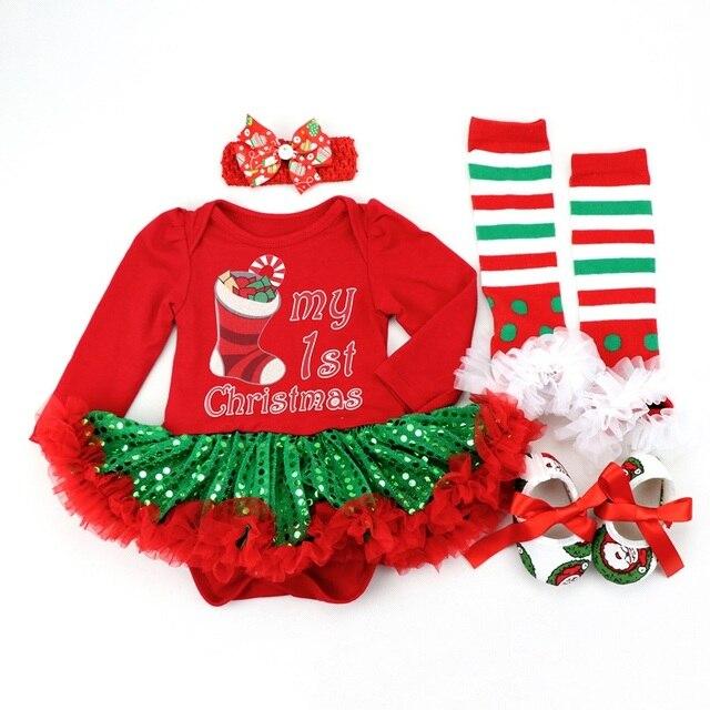 Ropa de algodón para niñas 1 año 1 año vestido de Navidad vestidos de fiesta para niñas pequeños vestido de bautismo trajes tutú con diadema