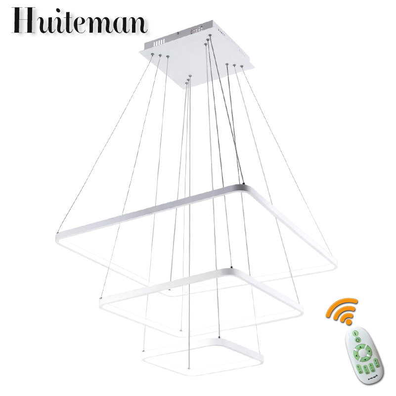 Huiteman Modern Ceiling Chandelier Led Acrylic Luminaire Aluminum Pendant Lamps Children Room Bedroom Living Room Chandeliers resin aircraft baby room wood chandelier led acrylic 3 head pendant lamp modern chandelier led children s kids bedroom loft