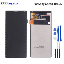 Original For Sony Xperia 10 LCD Display I3123 I3113 I4113 I4193 Touch Screen Assembly