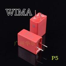 2020 hot البيع 10 قطعة/30 قطعة جديد الأصلي ألمانيا WIMA الصوت فيلم السعة 106 50 فولت MKS2 P:5 مللي متر شحن مجاني