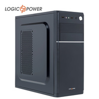 LOGIC POWER Desktop Computer Case New Arrivals 80mm Fan CD ROMx2 HDDx1 PCIx7 USBx2 AUDIO In