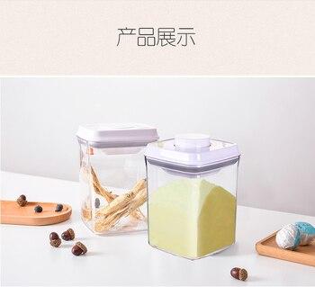 контейнеры для хранения пищевых продуктов | Батарея ультрафиолетовый стерилизатор пищевая коробка для сухого молока кофе герметичный может влаго-Прочный Контейнер для хранения лека...
