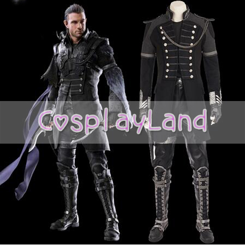 Final Fantasy XV Kingsglaive Nyx Ulric Cosplay Costume Halloween Costumes for Adult Men Cosplay Nyx Jacket Costume Suit