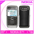 E71 100% Original Nokia E71 Mobile Phone 3G Wifi GPS 5MP Refurbished cellphone Unlocked E Series Smartphone Russian Keyboard