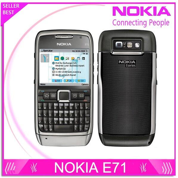 E71 100% Original Nokia E71 Mobs