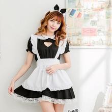 Новое Сексуальное Милое Платье Лолиты костюм горничной аниме косплей Униформа горничной плюс костюмы на Хэллоуин для женщин