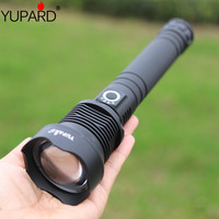 2019 most powerful led flashlight XLamp xhp70 zoom usb charging torch hunting 18650 or 26650 rechargeable high power lantern