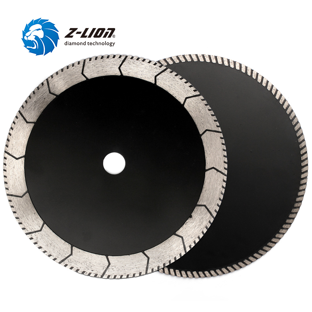 Z-LION 9 Inch Diamond Blade 22.23 Hole Cutting Grinding Disc 230mm Pressed Turbo Circular Saw Blades For Granite MarbleZ-LION 9 Inch Diamond Blade 22.23 Hole Cutting Grinding Disc 230mm Pressed Turbo Circular Saw Blades For Granite Marble