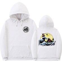 หลายรูปแบบDragon Ball Hoodieเสื้อกันหนาวผู้ชายพิมพ์เต่าGoku Poleron Hombre Streetwear Sudadera Dragon Ball Pullover