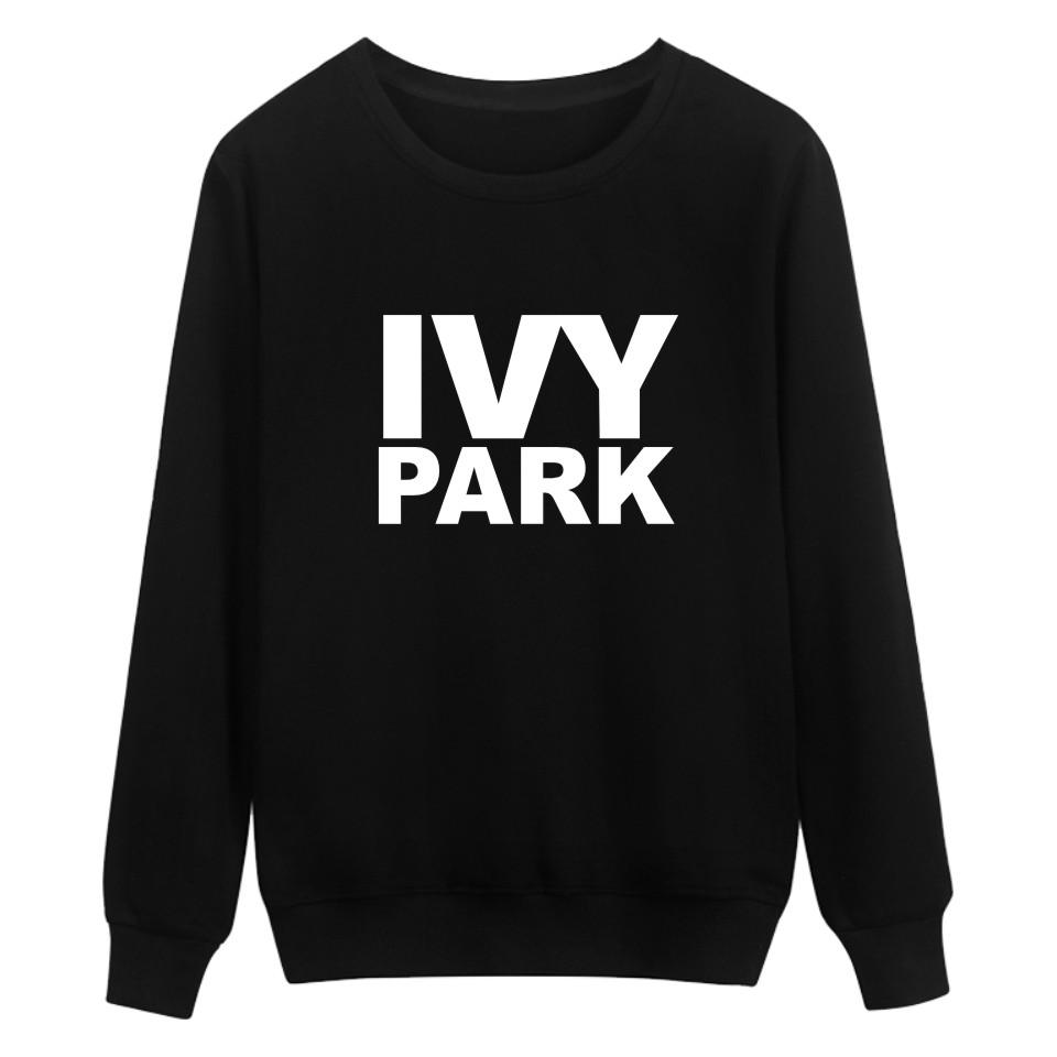 Music Cutting-Edge Beyonce New Fashion Women Sweatshirts Letter Black Casual Beyonce LVY Park Theme Style Letter Print Clothes