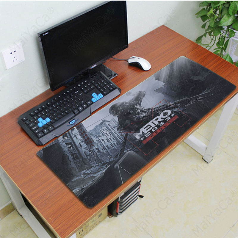 MaiYaCa Top Quality Metro 2033 Laptop Computer Mousepad Free Shipping Large Mouse Pad Keyboards Mat in Mouse Pads from Computer Office