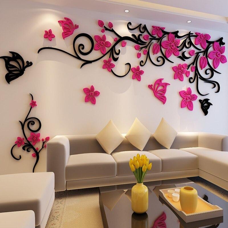 Красивые рисунки на стену дома искренне