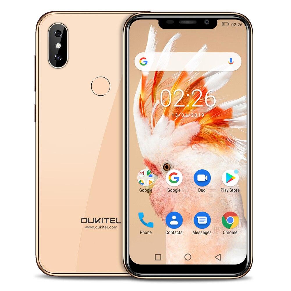 Купить Смартфон OUKITEL C13 Pro 4G 6,18 ''Android 9,0 OS MT6739 четырехъядерный 1,5 ГГц IMG 8XE 1PPC 2 Гб ram 16 Гб rom 3 камеры 3000 мАч мобильный на Алиэкспресс