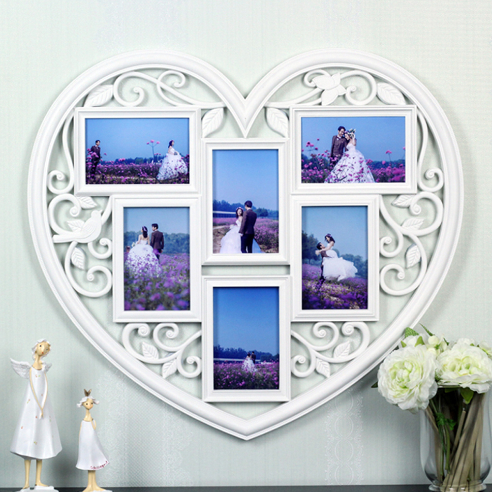 Heart Picture Collage Frame Choice Image - Craft Decoration Ideas