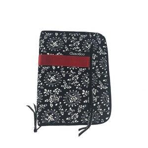 Image 4 - Estojo de agulha para cosméticos, bolsa intercalável com estampa de agulhas para armazenar pincel de maquiagem, tricô e maquiagem, 25.3cm * 15.3cm