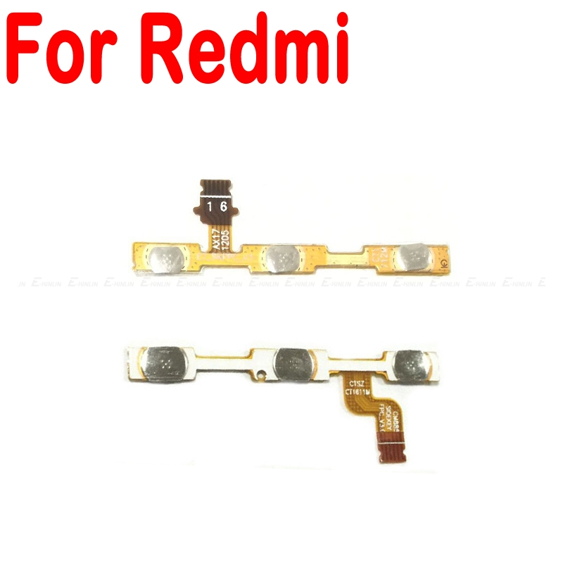 For Xiaomi Redmi 3 3S 4A 5 Plus Note 2 4 3 Pro Special Edition Note 5A 4X Global Power Switch On Off Volume Button Flex Cable