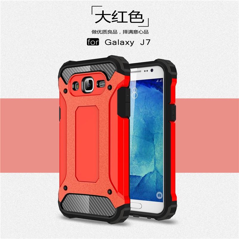 Hybrid carcasas para Cell Phone Back Cover For Samsung Galaxy J7 2016 - Ανταλλακτικά και αξεσουάρ κινητών τηλεφώνων - Φωτογραφία 4