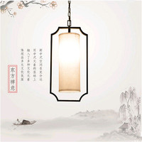 New trung quốc Guanzhong khu vực lanh đơn giản pendant lights Đông cổ sáng tạo sắt bar & lights đối với cầu thang & hiên & cafe VPU006