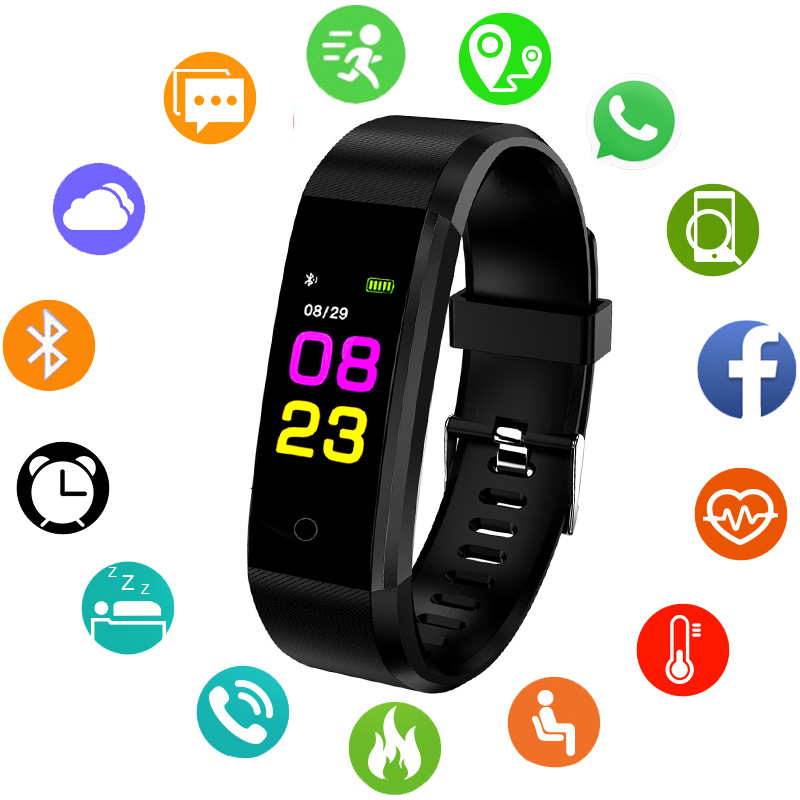 Bracelet Smart Watch Men Waterproof Digital LED Sports Watch Heart Rate Monitor Smartwatch Electronic Wrist Watch For Men ClockBracelet Smart Watch Men Waterproof Digital LED Sports Watch Heart Rate Monitor Smartwatch Electronic Wrist Watch For Men Clock