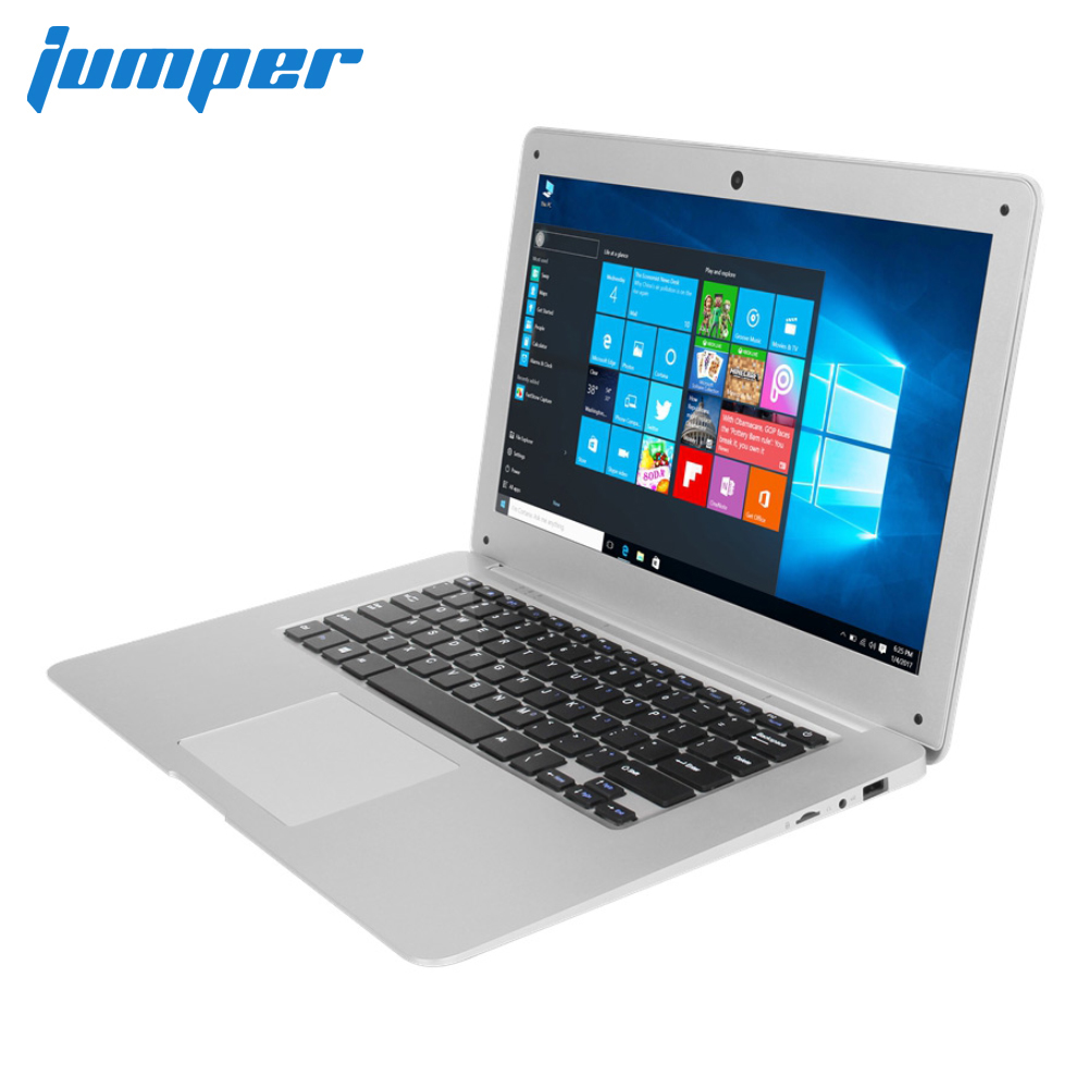 14.1 Inch Laptop Jumper EZbook 2 Windows 10 Ultrabook 1080P Notebook Computer Ultra Slim Intel Cherry Taril Z8350 4GB 64GB EMMC