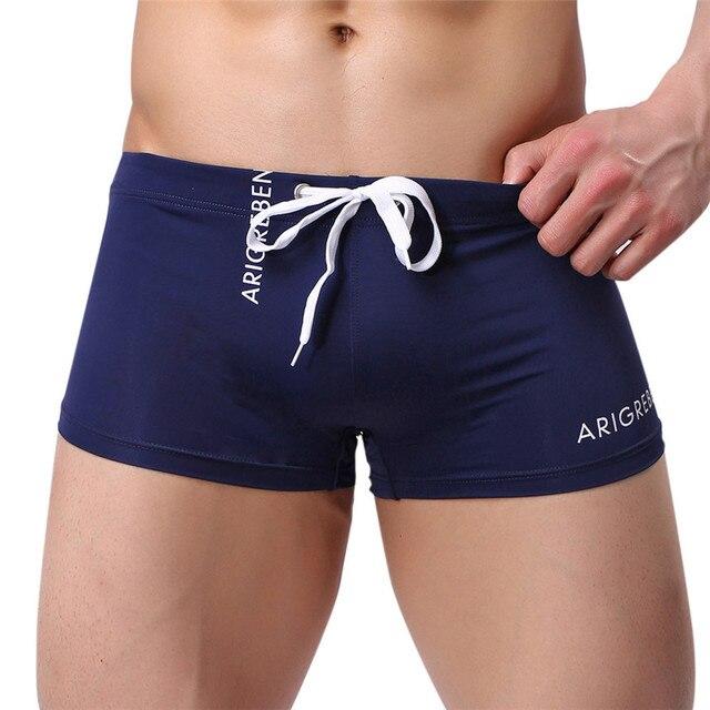 Womail6 colores Sexy bóxer calzoncillos para Hombre Pantalones cortos de natación para Hombre Pantalones cortos de baño delgados Sexy pantalones de baño regalos 1 PC