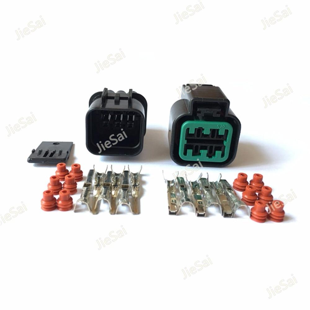 Realistic Kum 6 Pin Female And Male Automotive Waterproof Plastic Electronic Housing Connector Plug Pb625-06027 Lights & Lighting
