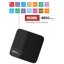 MECOOL M8S PRO L Android 7.1 tv box Amlogic S912 3GB DDR3 16/32GB Rom 2.4G/5G WiFi Bluetooth H.265 4K Smart IPTV Android TV Box mecool m8s pro l 4k tv box android 7 1 smart tv box 3gb 16gb amlogic s912 cortex a53 cpu bluetooth 4 1 hs with voice control