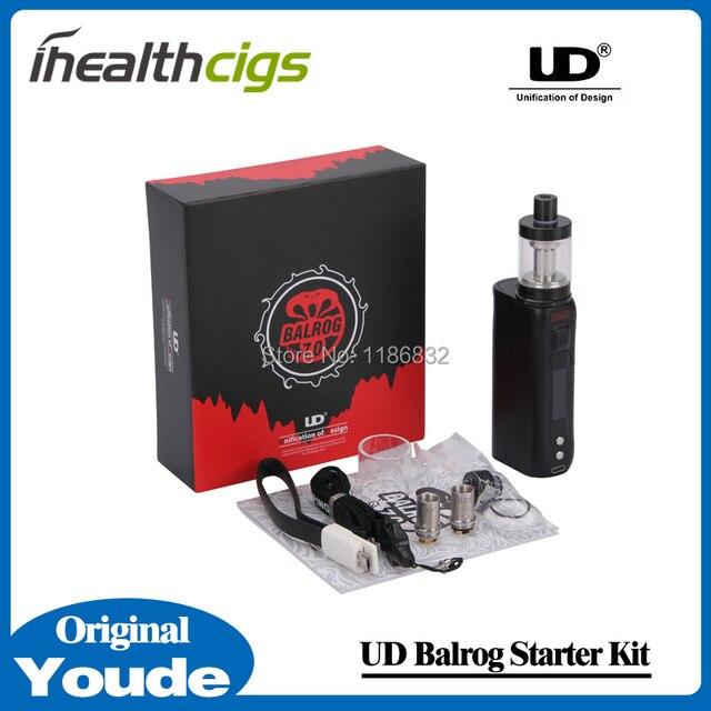 100% Original Youde UD Balrog Starter Kit con 3 ml Balrog tanque y UD Balrog 70 W TC / VW Mod