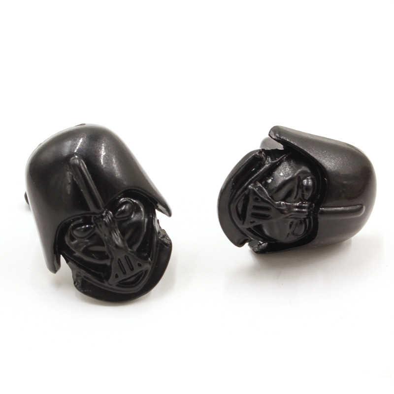 Jual Hot Star Wars Darth Vader Anakin Skywalker Hitam Berlapis Manset Bermutu Tinggi Gothic Manset Kemeja Merek Perhiasan Film