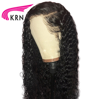 Transparen Lace 130 Density Curly Lace Front Human Hair Wigs With Baby Hair Remy Brazilian Wigs Pre Plucked Natural Hairline