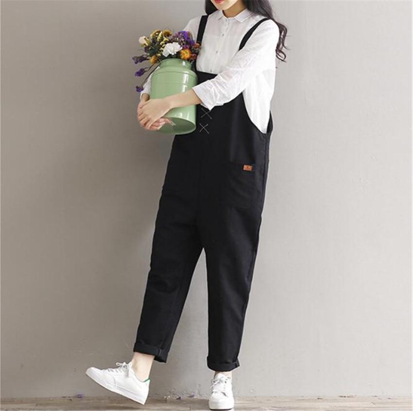 MLCRIYG O novo estilo de vestir das mulheres Jumpsuits Rompers haren Lazer Estudante
