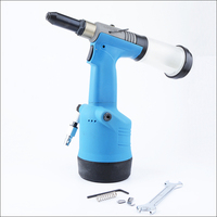 Industriy Grade Pneumatic Riveter Self Suction Style Three Claw Rivet Tool Air Riveter for Nail 2.4, 3.2, 4.0, 4.8mm