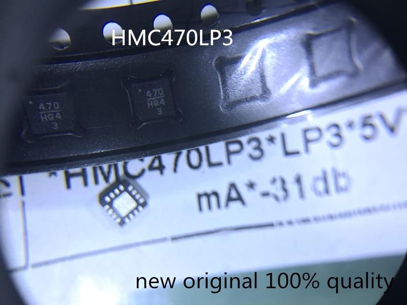 5PCS  HMC470LP3ETR  HMC470LP3  code  470  new original