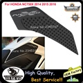 2016 New High Quality Motorcycle Tank Traction Side Pad Gas Fuel Knee Grip Decal For HONDA NC750X 2014 2015 2016 Free Shipping