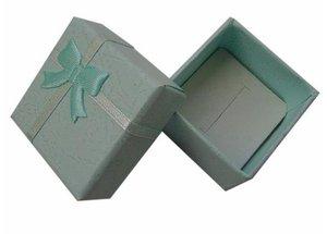 Image 4 - الجملة 48 قطعة/الوحدة موضة صندوق مجوهرات ، متعدد الألوان خواتم صندوق ، مجوهرات هدية تغليف أقراط حامل حافظة 4*4*3 سنتيمتر