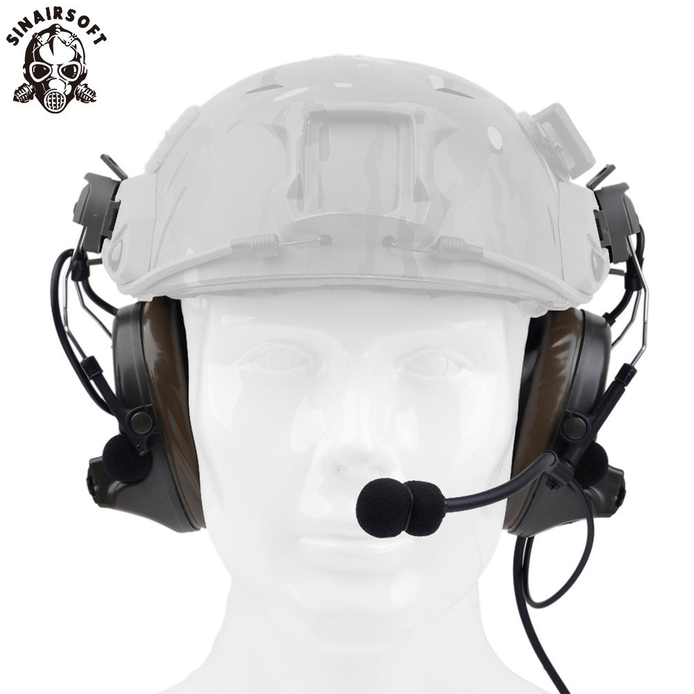 Z tactical Z Tactical Softair Aviation Headset Headphone Comtac II Headset For FAST Helmet And Peltor