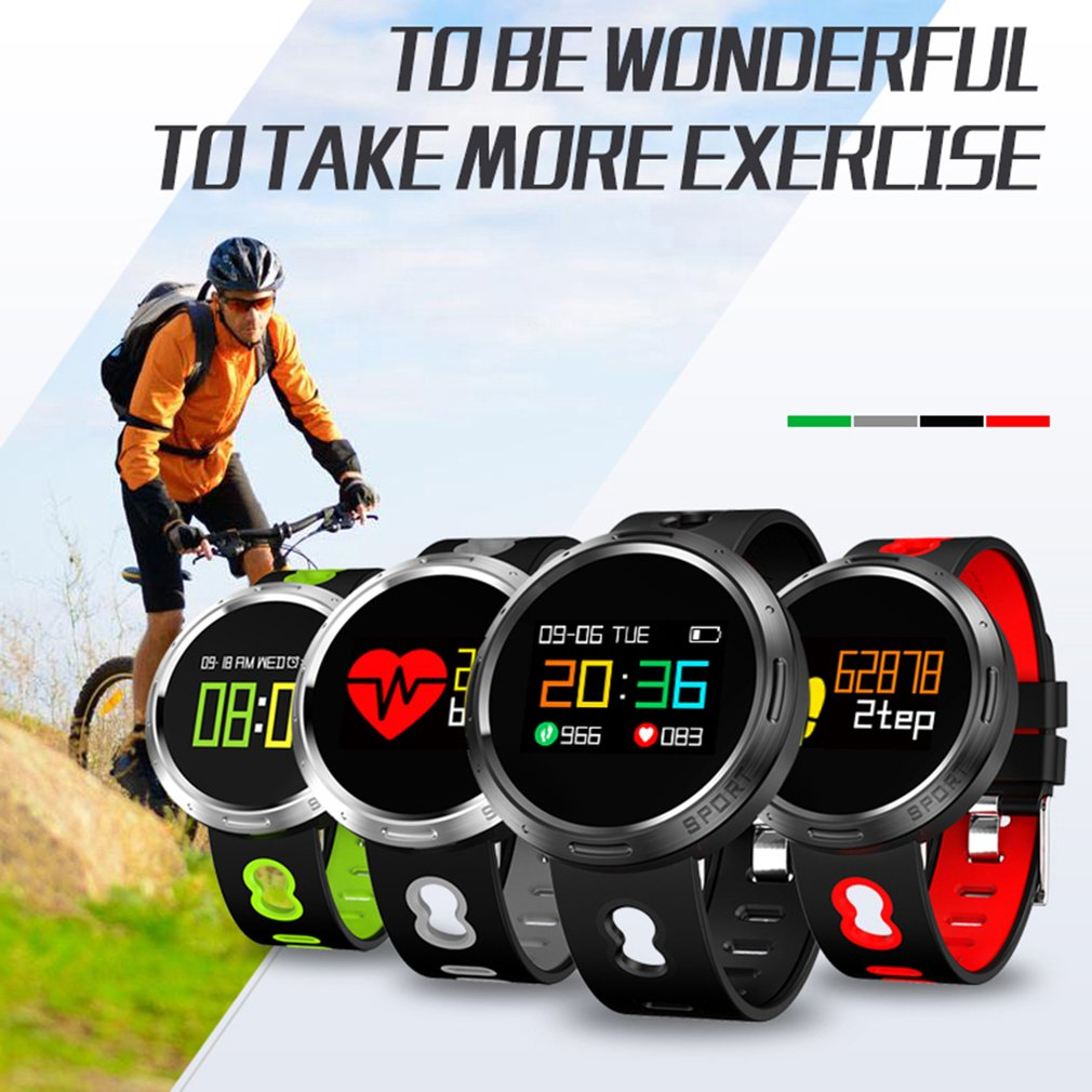 Waterproof X9V0 Bluetooth 4.0 Smart Bracelet With 0.95 Inch OLED Color Screen G sensor call Reminder Smartwatch for iOS Android|Digital Watches| |  - title=