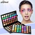 120 color nueva marca profesional de maquillaje perlado mate nude paleta de sombra de ojos comestic popfeel ojo set de maquillaje de sombra de ojos shimmer