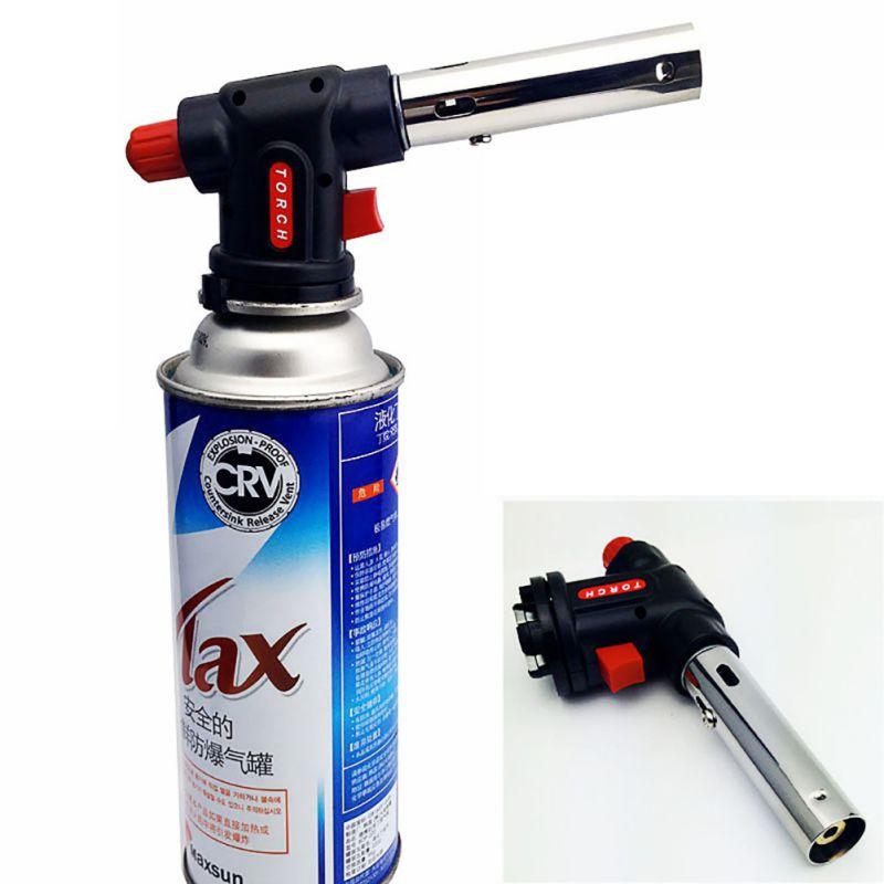 Сварочный пистолет горелки кухня факел огнемет пистолет Принадлежности для шашлыков пистолет бутан автогена пайки Лидер продаж