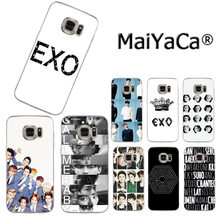 MaiYaCa Kpop EXO Lucky one Colorful Phone Accessories Case for Samsung S3 S4 S5 S6 S6edge S6plus S7 S7edge S8 S8plus(China)