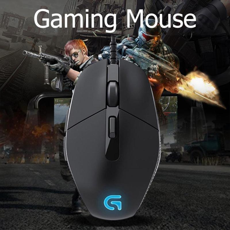 Logitech G302 USB filaire souris de jeu 4000 DPI 6 boutons main droite souris Gamer pour PC ordinateur portable souris - 2