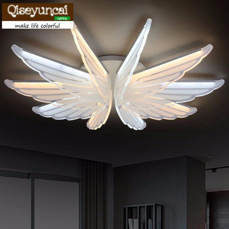 Modern LED chandelier wing acrylic  lamp for dinning room living room lampadario moderno Chandelier Lighting AC85-265V