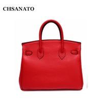 CHSANATO оптовая продажа европейский и американский классический брендовая дизайнерская сумочка высокое качество из натуральной кожи для жен...
