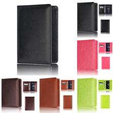 Sleeper #5001 Passport Holder Protector Wallet Business Card Soft Passport Cover Free Shipping(China)