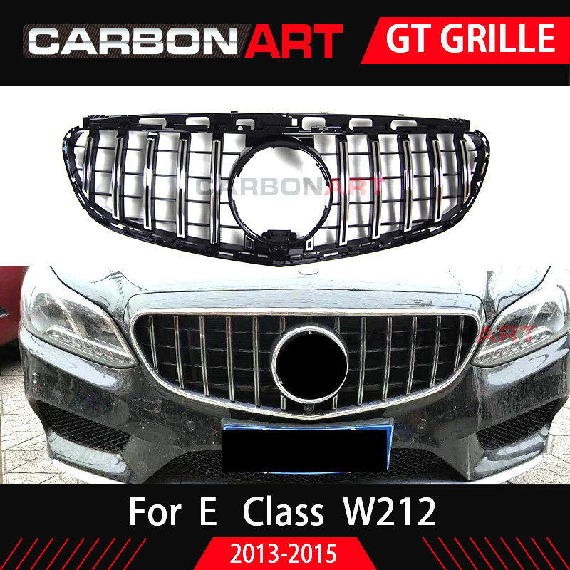 E Class W212 GT Grill Vertical Grille For Mercedes E Class Facelift Only 2014-2015 ABS Mesh E260 E300 E350 GT grillE Class W212 GT Grill Vertical Grille For Mercedes E Class Facelift Only 2014-2015 ABS Mesh E260 E300 E350 GT grill