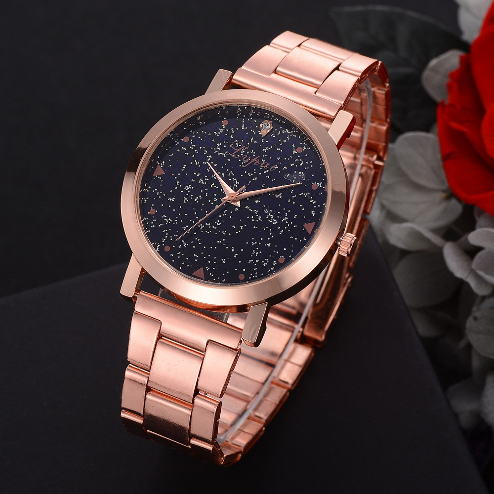 Lvpai Women's Casual relogio feminino Quartz Steel Belt women Watch Analog Hook Buckle Wrist Watch 40p ladies wristwatch 2