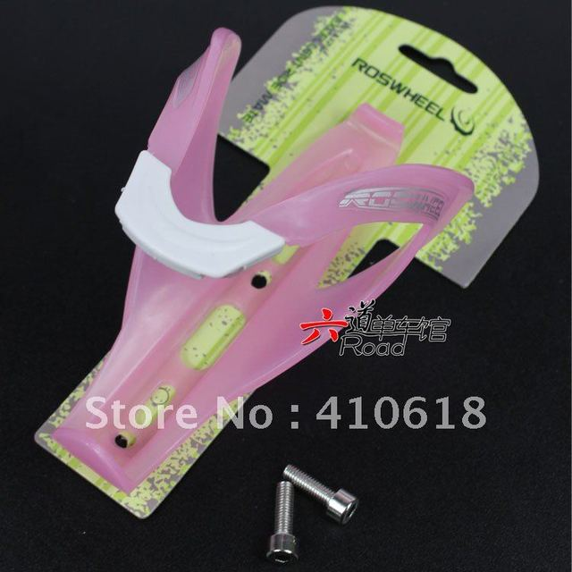 Fluorescent Bike Bicycle Cycling Water Bottle Cage Holder NIGHT-LUMINOUS ROSWHEEL